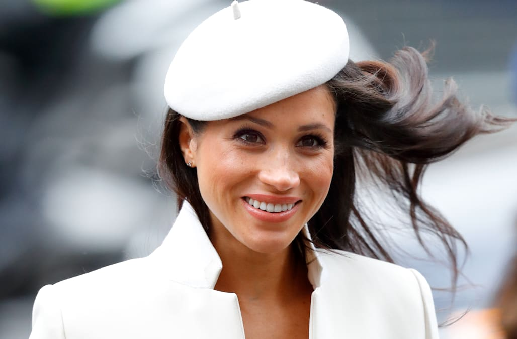 5fe1b15c4a3 Meghan Markle s designer friend might have just dropped a huge royal  wedding hint