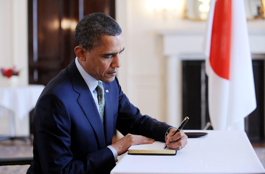 how to write to obama