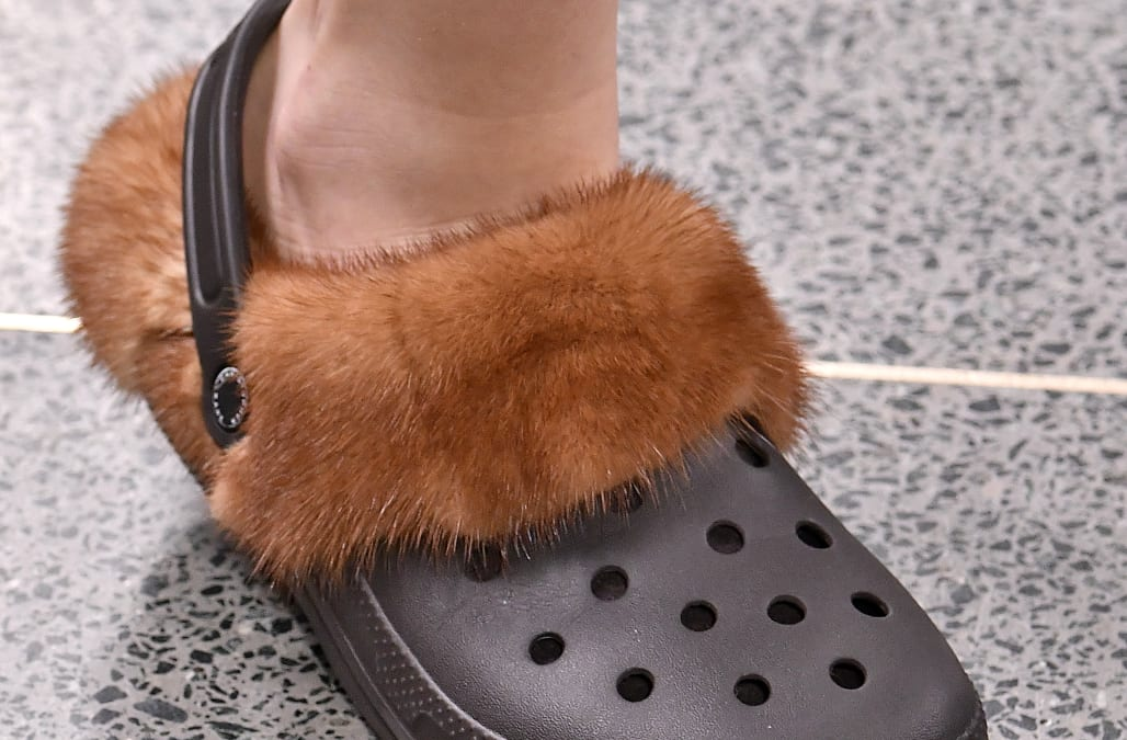 bf065b816acc8 Brace yourselves  Furry crocs are the next fashion trend - AOL Lifestyle