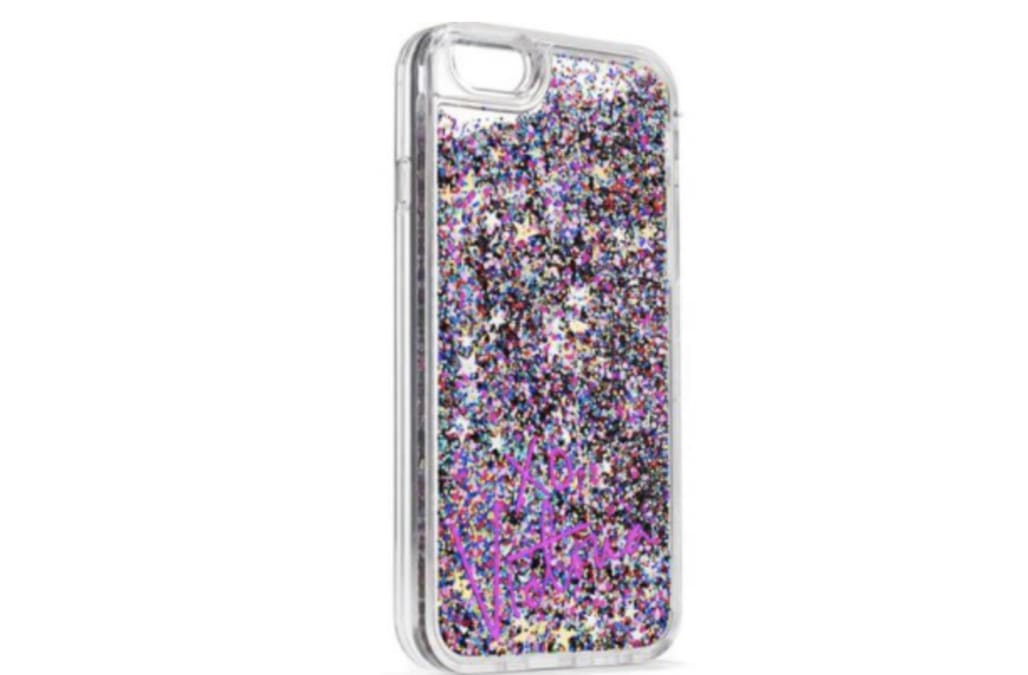 low priced 19984 26dfa Liquid glitter phone cases recalled after multiple reports of ...