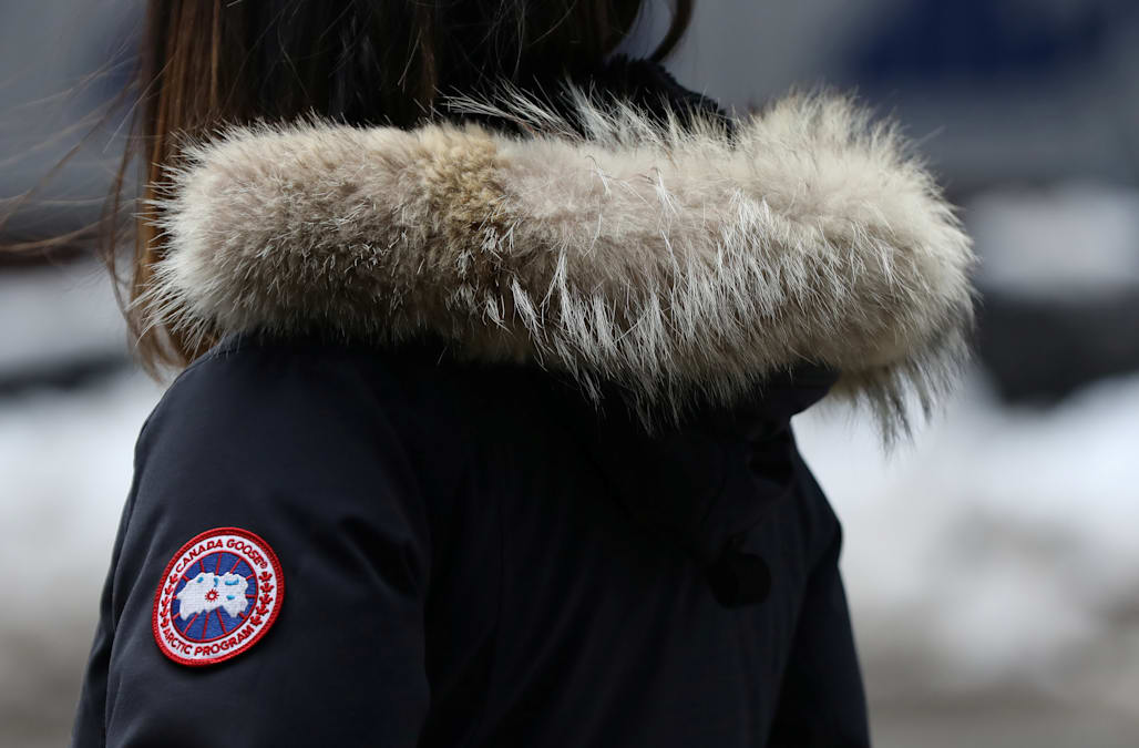 0e6de6756f9 Luxury parka maker Canada Goose's shares soar in market debut - AOL ...