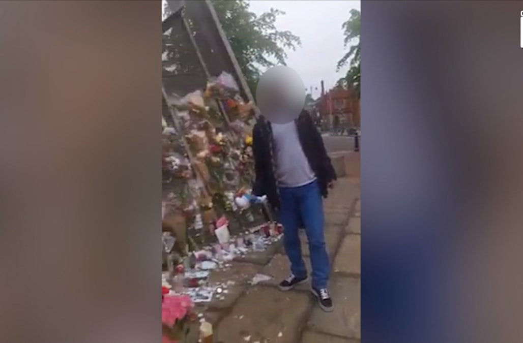 9dcb5888b7ab A memorial of children s toys and flowers for the young victims of the  Manchester Arena terror attack has apparently attracted thieves who  apparently had ...