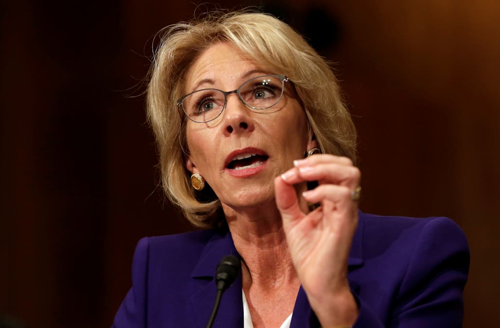 Betsy Devos Nomination Chilling >> Betsy Devos I D Be Fine If We Could Ditch The Education