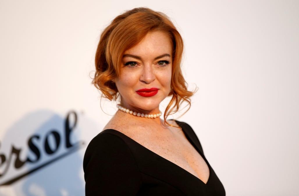 Lindsay Lohan launches... Lindsay Lohan