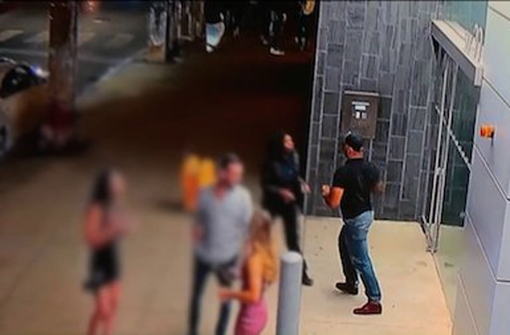 Security Guard Attacked By Man She Was Trying To Help