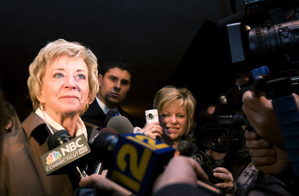Former Conn. Senate candidate, WWE executive Linda McMahon picked ...