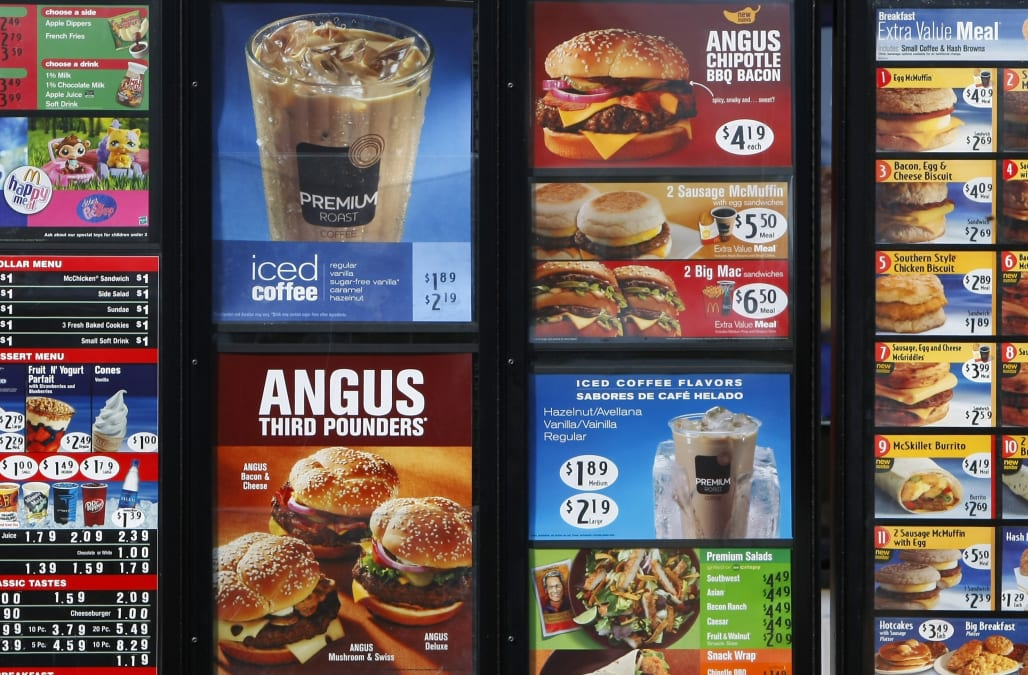 These Are The Healthiest Items At Mcdonald S Aol Lifestyle