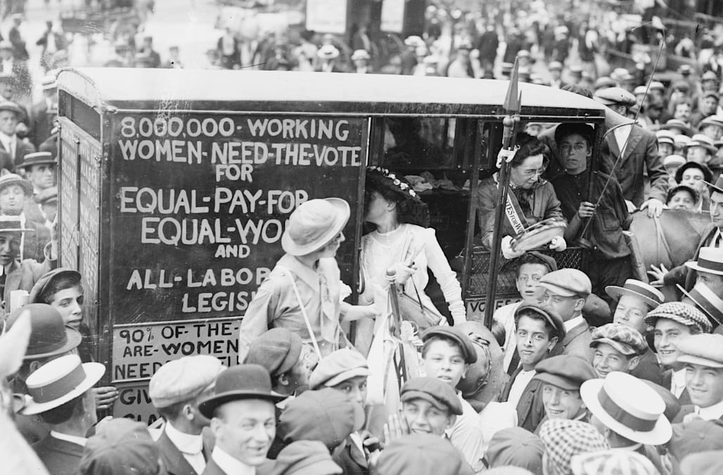 evolution of feminism essay The history of feminist thought can be broken down roughly into three waves  first-wave feminism, from the 18th until the beginning of the 20th century, was a.