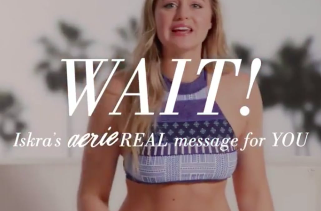 3681cf26fe77 Aerie launches new campaign to donate $1 to the NEDA for every unretouched  Instagram posted
