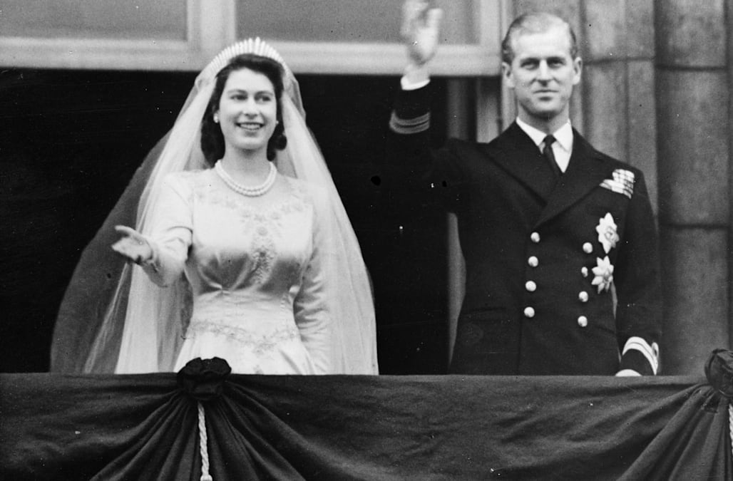 c0f3e1e872e0 Queen Elizabeth's maid-of-honor still marvels at her bridesmaid's dress, 7  decades later