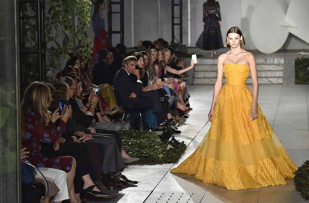NYFW: Be the belle of the ball with Carolina Herrera Spring 2018 ...