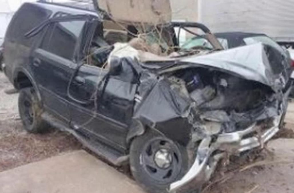 Man Survives Days Trapped In Suv After Accident Aol News