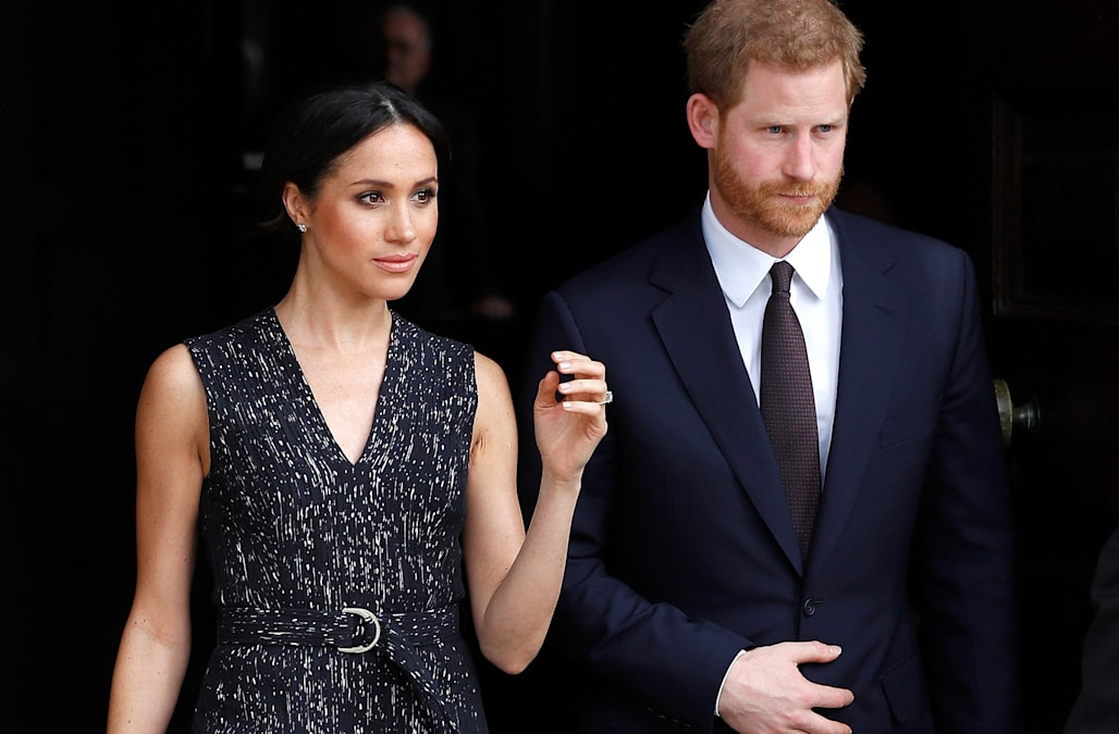 27d2485c4a0d4 Meghan Markle criticized for  inappropriate  dress worn for Stephen  Lawrence s memorial
