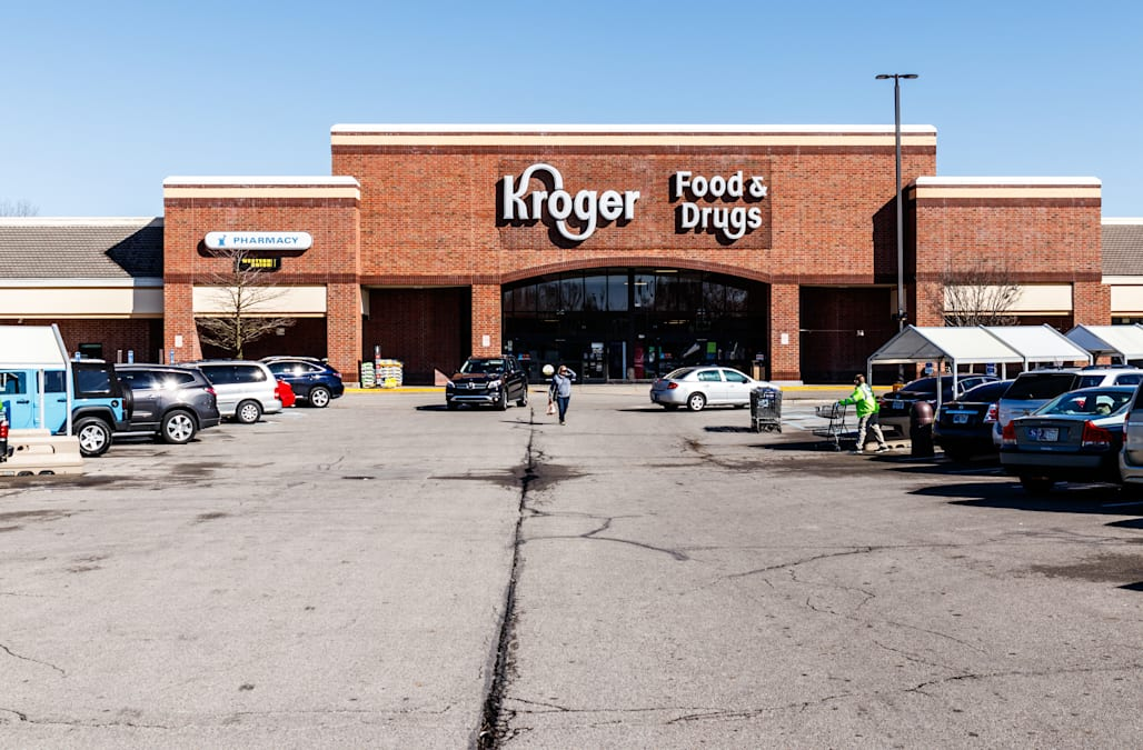 Kroger is charging at Amazon with a company that uses