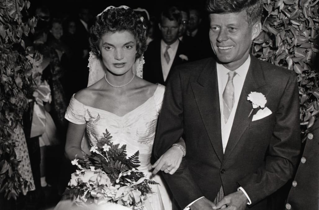 A look back at jfk and jackies lavish 1953 wedding aol lifestyle a look back at jfk and jackies lavish 1953 wedding junglespirit Gallery