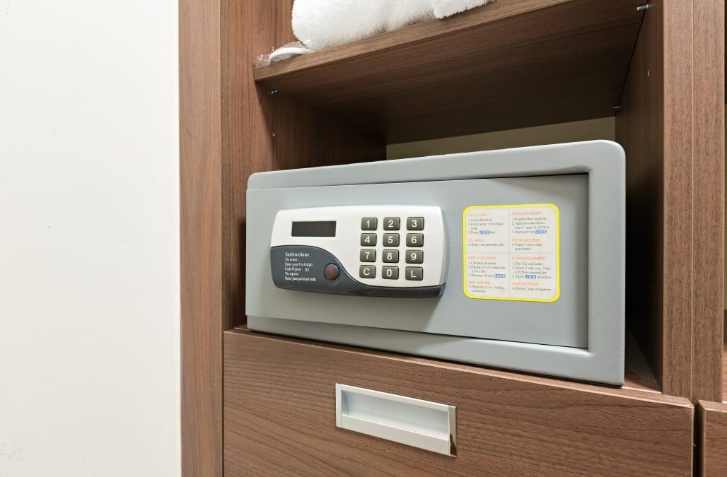 Hotel Room Safe Master Code