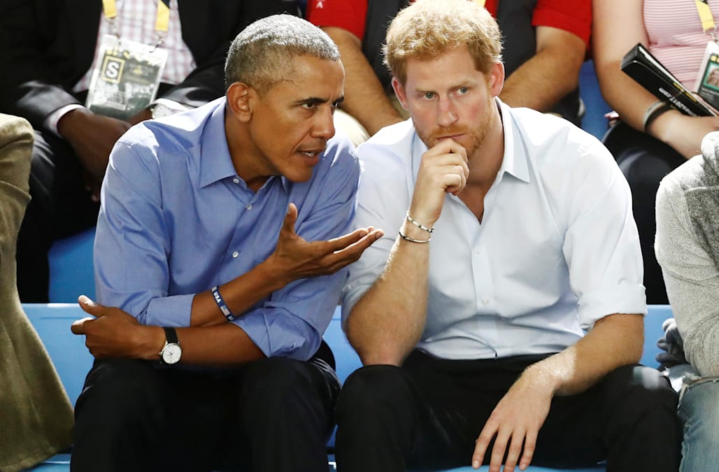 Prince Harry Sidestepped Questions About Whether He Would Invite His Friend Barack Obama To Wedding On Wednesday