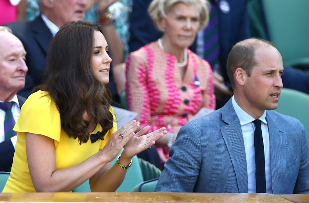 Duchess Kate Middleton s gorgeous  push present  debuted at Wimbledon f13363a14