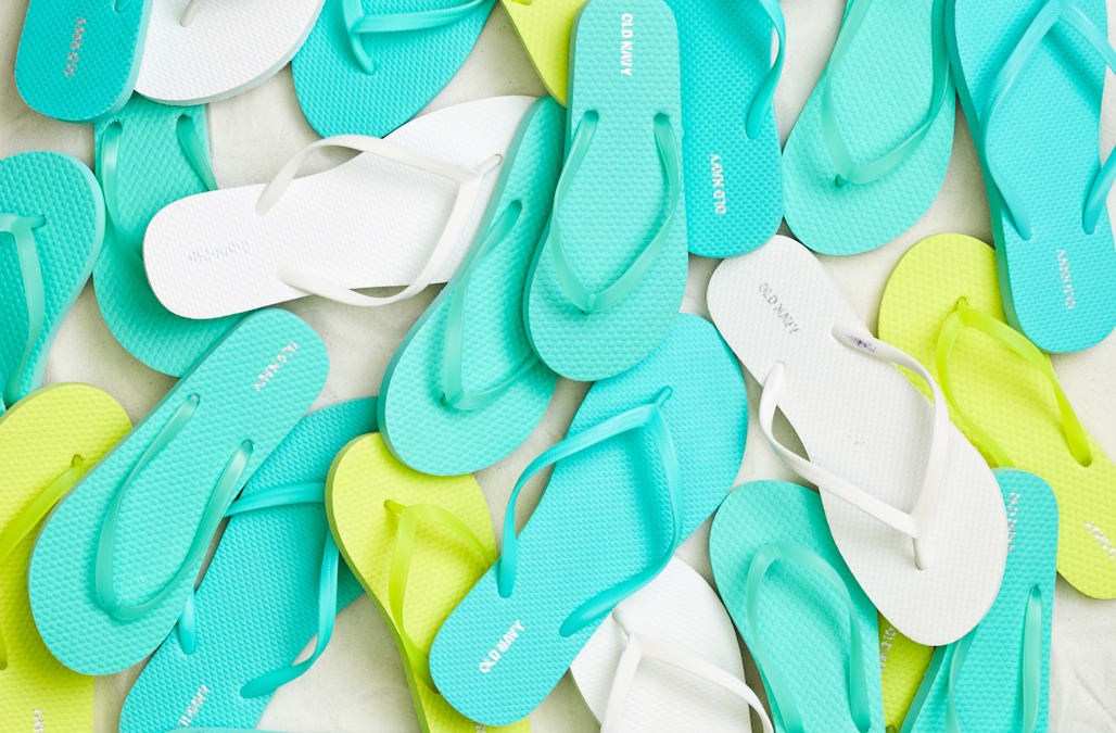 f323f0a5b1eebc Old Navy s  1 flip-flop sale is coming - AOL Lifestyle