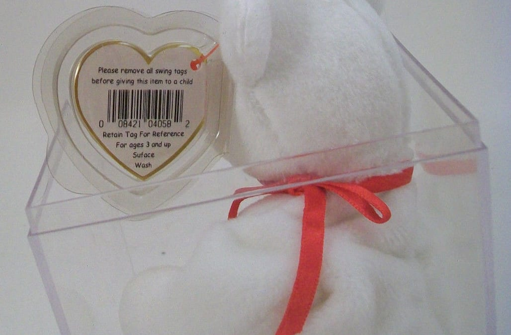 4ce82e44562 Misprint on Valentino Beanie Baby tag could fetch up to  25