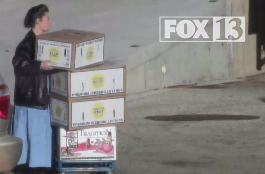 FBI Surveillance Video Shows FLDS Food Stamp Fraud Scheme In Action