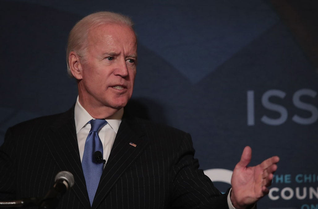 Biden takes on Trump presidency as 2020 rumors swirl: 'I think it will, God willing, go down ...'