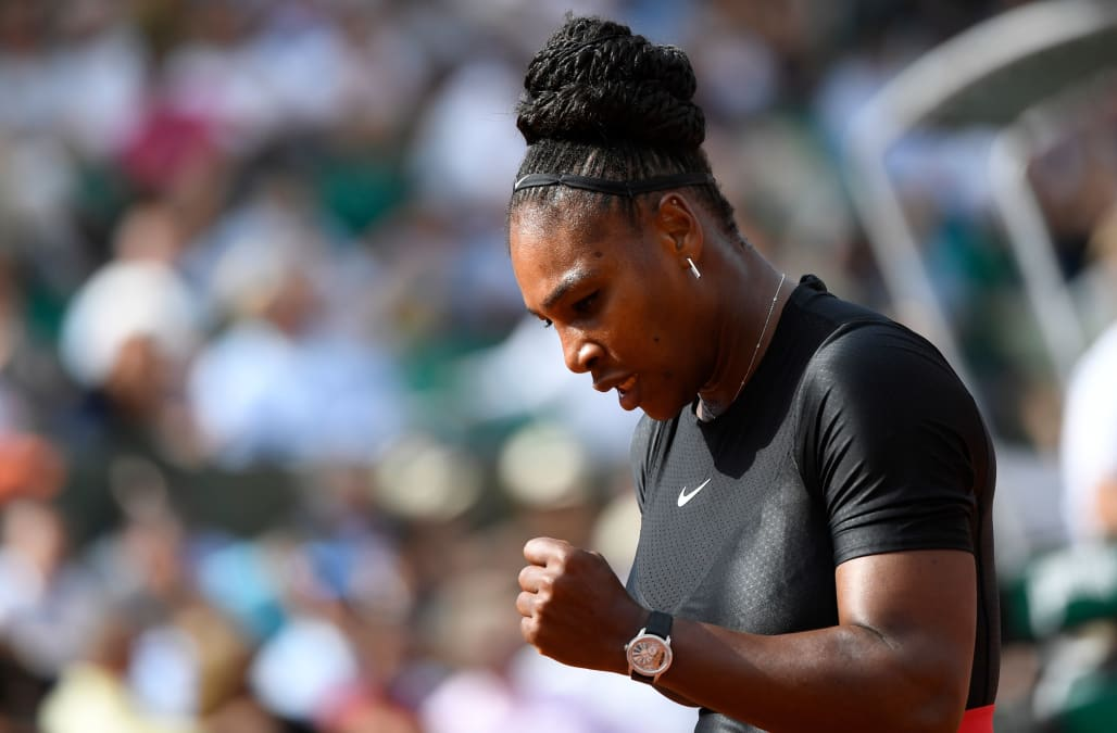 Serena Williams Made Her Return To The Grand Slam Circuit On Tuesday In First Round Of French Open 36 Year Old Hasn T Played A Major Tennis