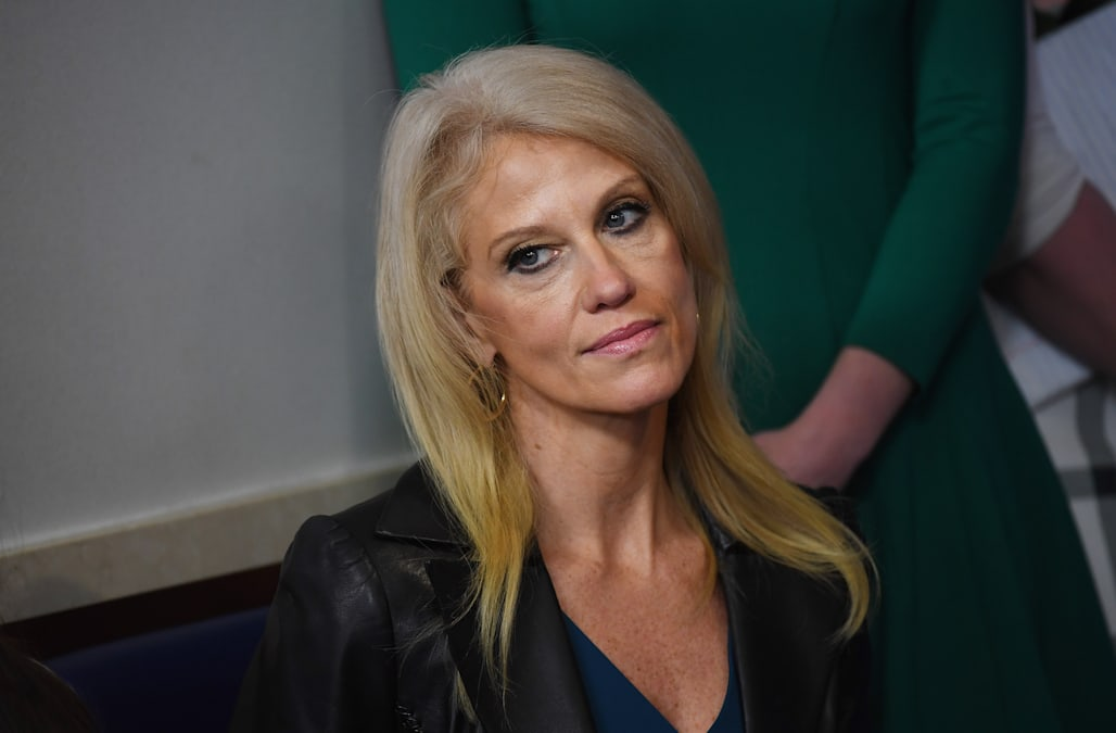 'Everything makes them cry and scream': Kellyanne Conway ...