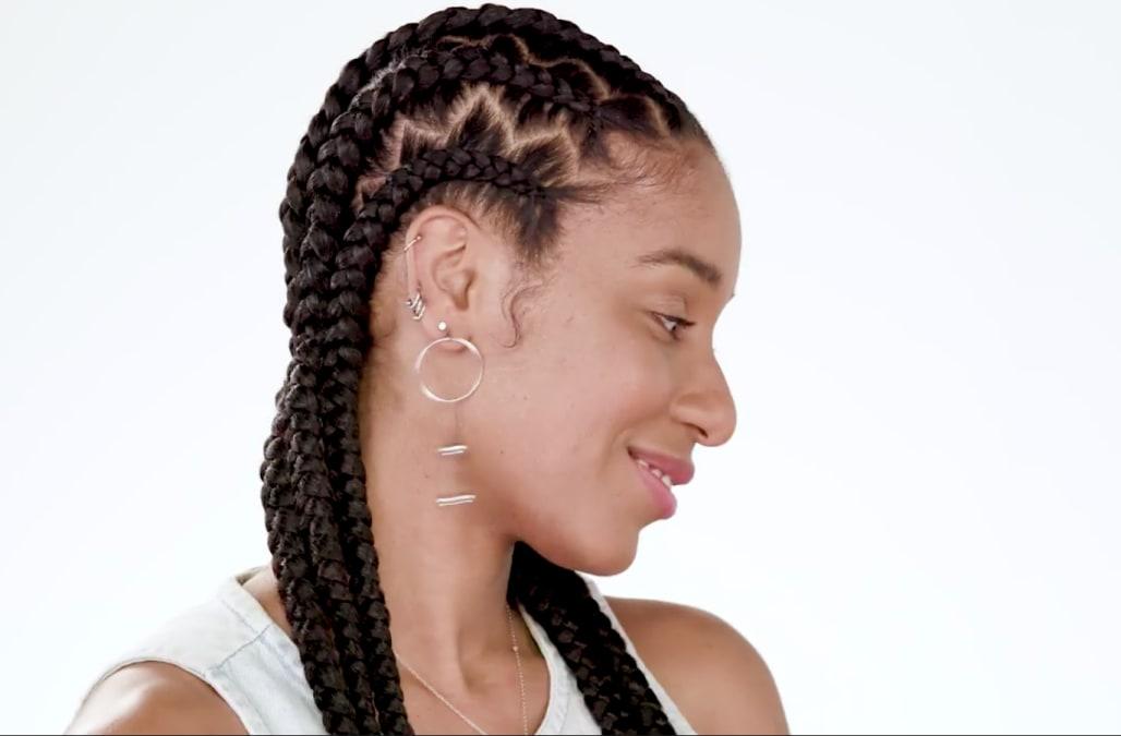 Hairstyles Braids Download: Beauty In Motion: Zig-zag Braids