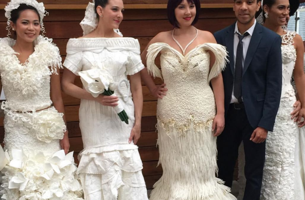 Save A Few Thousands Dollars By Making Your Wedding Dress Out Of