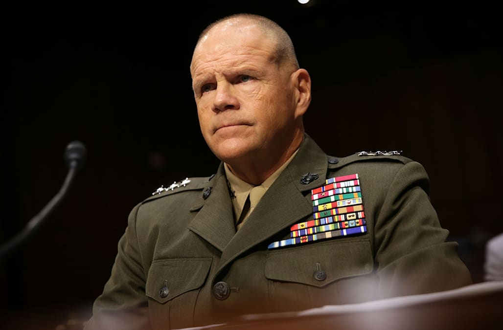 Commandant Of Us Marine Corps Speaks Out Against Those Involved In