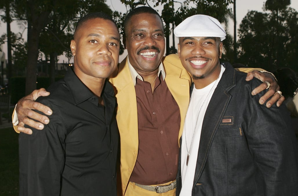Image result for cuba gooding jr father
