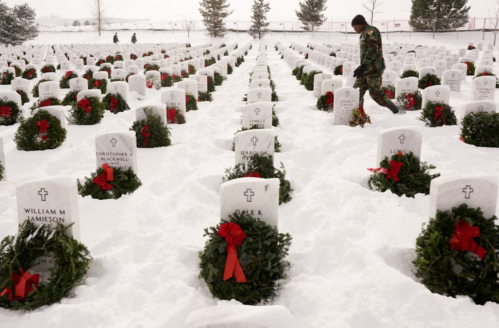 Wreaths Across America Honors Veterans During The Holidays
