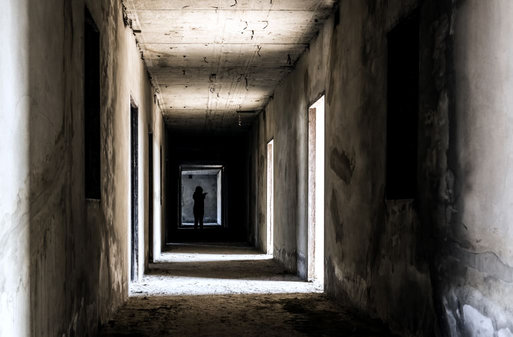 Image result for haunted women in the building