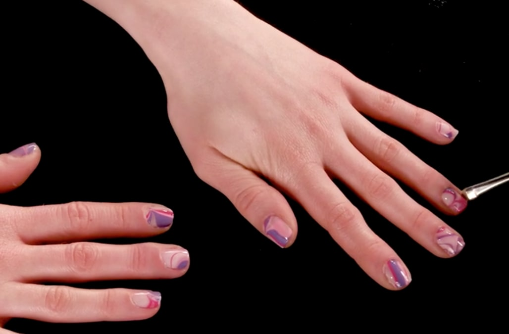 Beauty in motion: Nail Marbling - AOL Lifestyle
