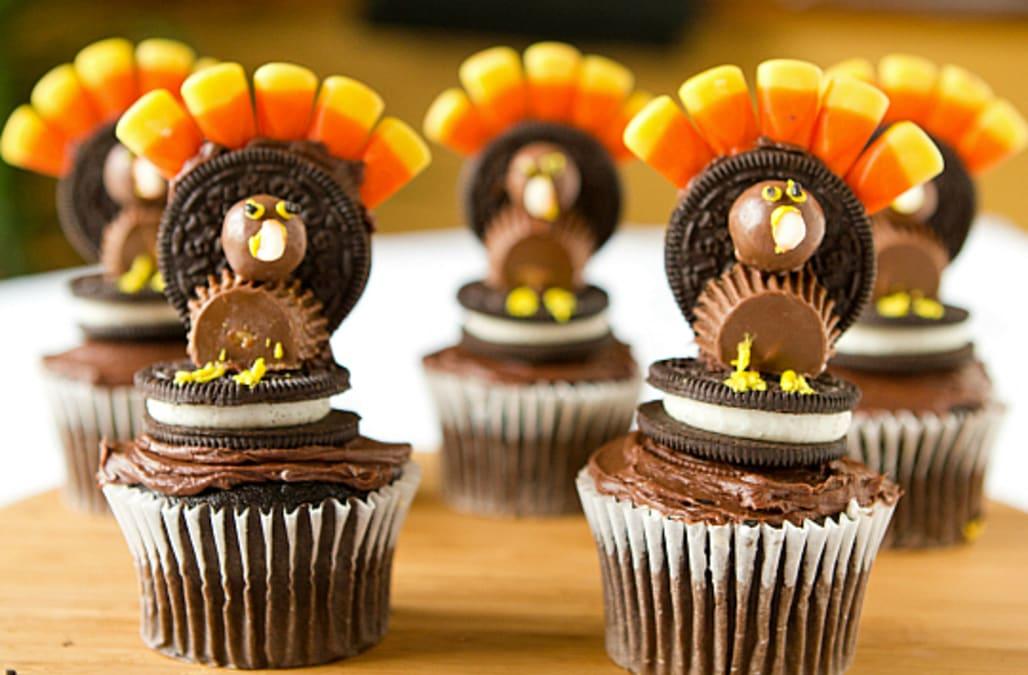 Five thanksgiving turkey cupcake ideas aol lifestyle
