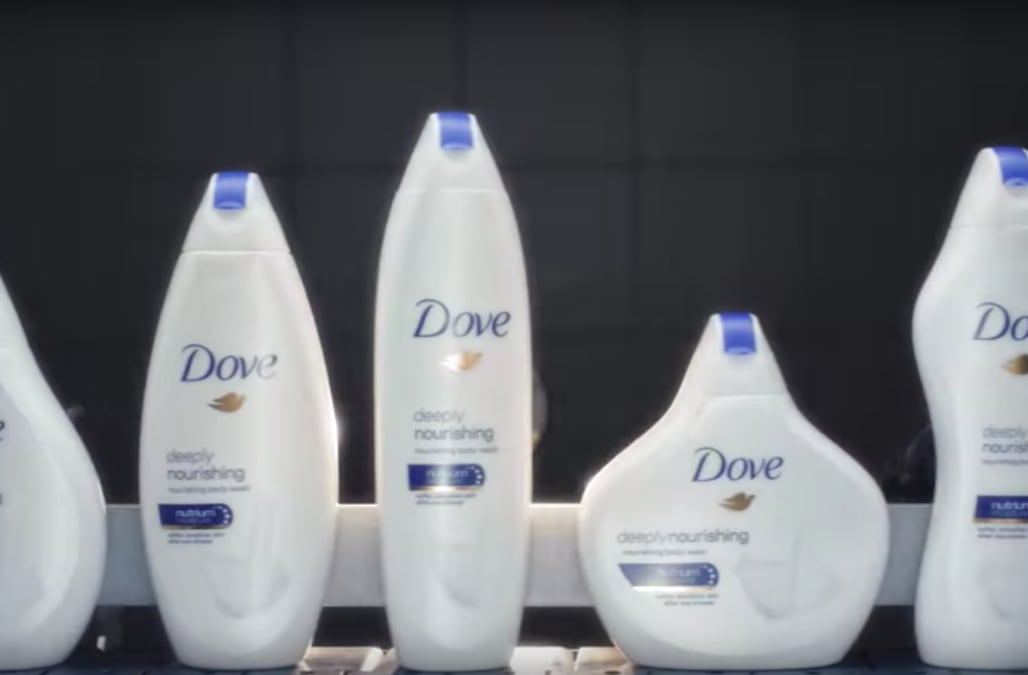 Dove ripped apart for latest #RealBeauty campaign featuring curvy bottles