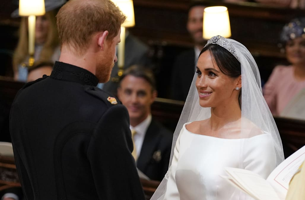 How to recreate Meghan Markle's gorgeous wedding updo