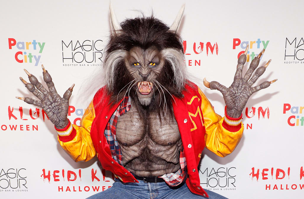 Heidi Klum's 2017 Halloween Bash: Wildest makeup transformations ...