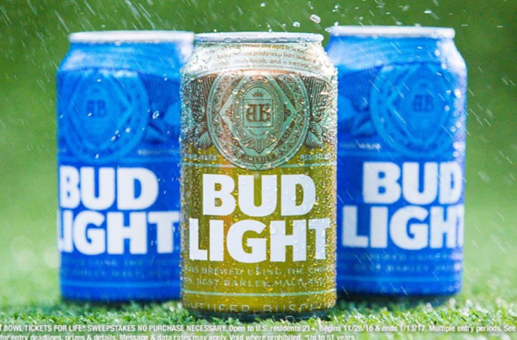 Find A Golden Bud Light Can And Win Super Bowl Tickets For Life