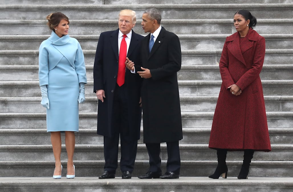 Trump Reportedly Shows Obamau0027s Inauguration Day Letter To Oval Office  Visitors
