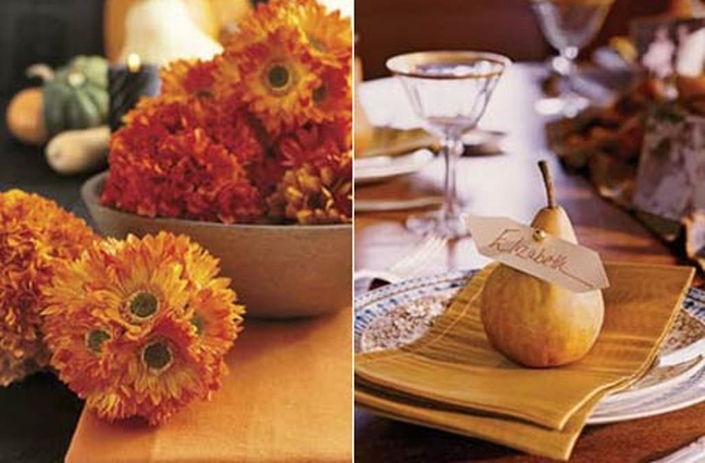 Thanksgiving table decorating ideas aol lifestyle