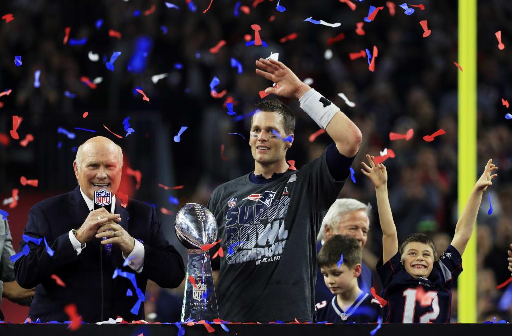 Tom Brady shares emotional Super Bowl celebration with sick