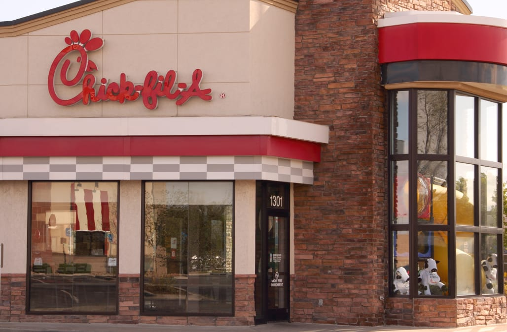 Chick-fil-A broke from tradition and opened on a Sunday