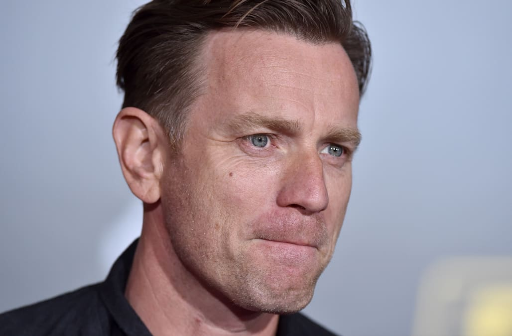 actor ewan mcgregor arrives at the premiere of disney pictures and picture id958156610.'