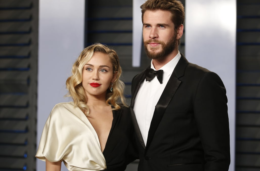 Miley Cyrus Being Very Secretive About Her Wedding With Liam Hemsworth Exclusive