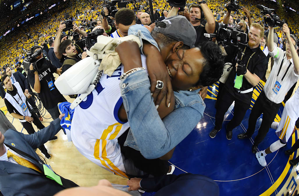 319495fe68d Kevin Durant shares sweet post-championship moment with the  real  MVP --  his mom