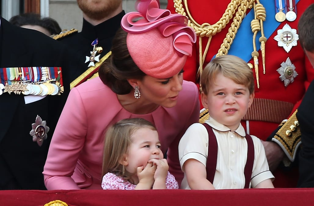 Of course prince george and princess charlotte steal the for Another name for balcony