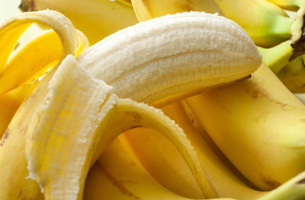 Banana improve skin