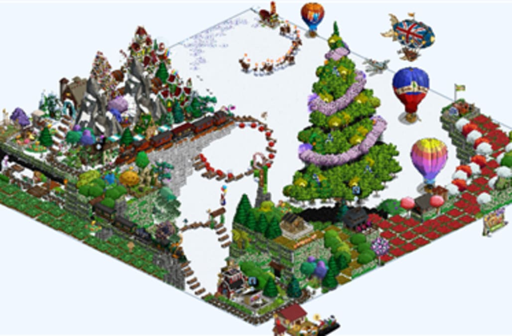 FarmVille Pic of the Day: Christmas takes to the sky on Brayzdin's